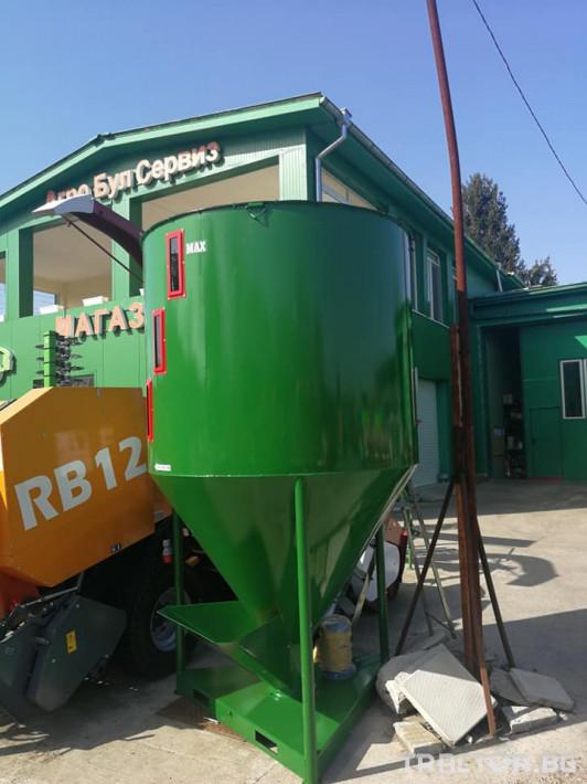 Обработка на зърно Смесители за фураж и фуражомелки Mroll 0 - Трактор БГ