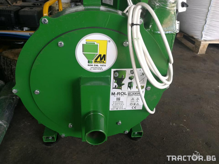 Обработка на зърно Смесители за фураж и фуражомелки Mroll 2 - Трактор БГ