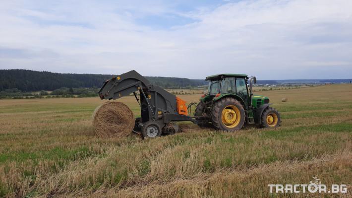 Сламопреси Wolagri NAVIGATOR JB 12 NW 8 - Трактор БГ