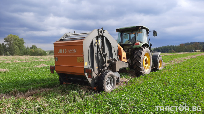 Сламопреси Wolagri NAVIGATOR JB 12 NW 9 - Трактор БГ