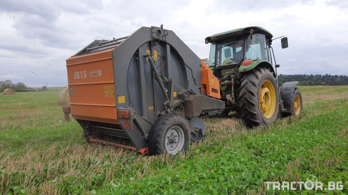 Сламопреси Wolagri NAVIGATOR JB 12 NW 15 - Трактор БГ