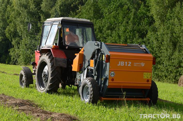 Сламопреси Wolagri NAVIGATOR JB 12 NW 16 - Трактор БГ