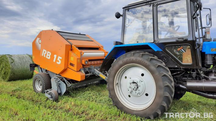 Сламопреси Wolagri NAVIGATOR RB15 0 - Трактор БГ