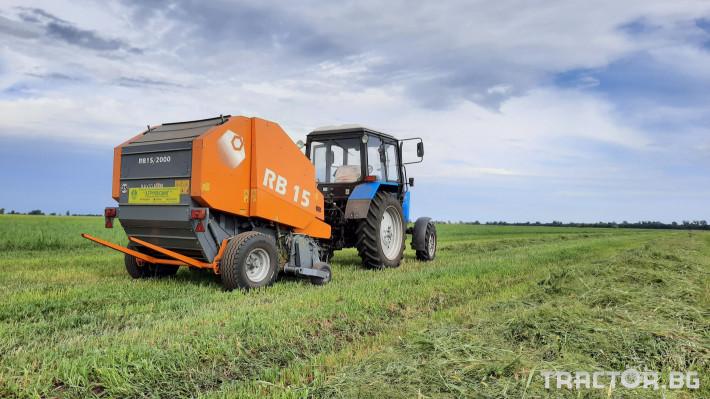 Сламопреси Wolagri NAVIGATOR RB15 2 - Трактор БГ