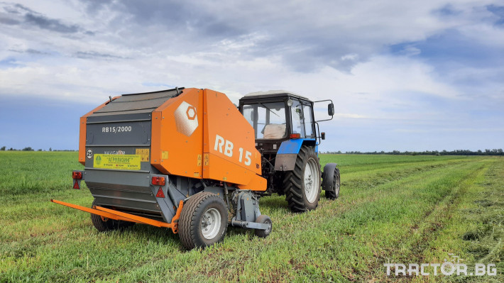 Сламопреси Wolagri NAVIGATOR RB15 3 - Трактор БГ