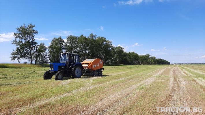 Сламопреси Wolagri NAVIGATOR RB15 7 - Трактор БГ