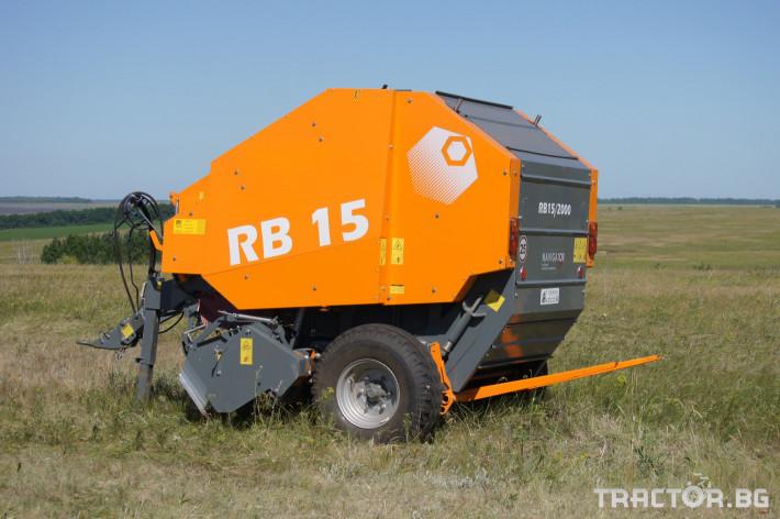 Сламопреси Wolagri NAVIGATOR RB15 8 - Трактор БГ
