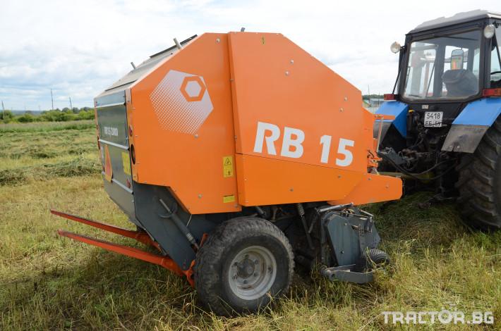 Сламопреси Wolagri NAVIGATOR RB15 1 - Трактор БГ