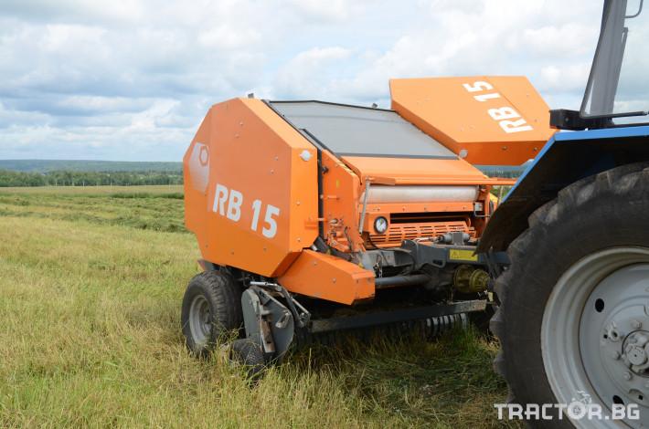 Сламопреси Wolagri NAVIGATOR RB15 10 - Трактор БГ