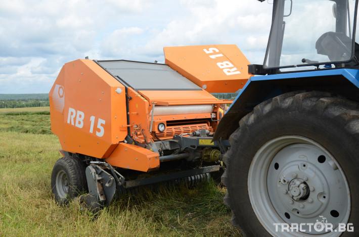 Сламопреси Wolagri NAVIGATOR RB15 11 - Трактор БГ
