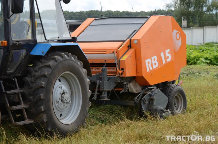 Сламопреси Wolagri NAVIGATOR RB15 12 - Трактор БГ