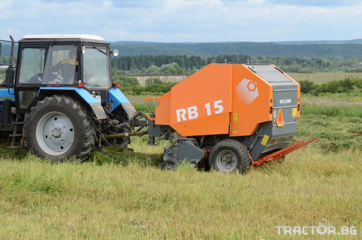 Сламопреси Wolagri NAVIGATOR RB15 13 - Трактор БГ