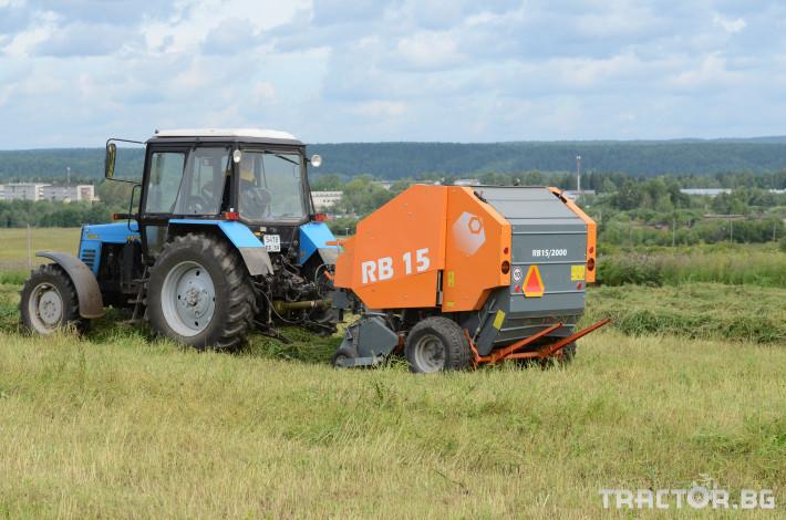 Сламопреси Wolagri NAVIGATOR RB15 14 - Трактор БГ