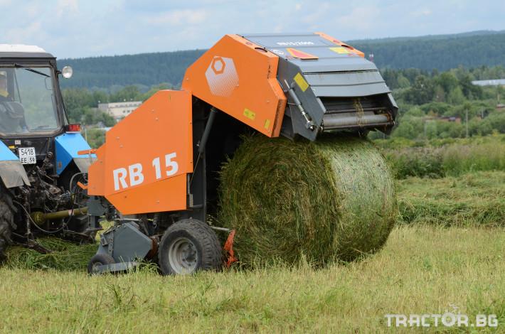 Сламопреси Wolagri NAVIGATOR RB15 15 - Трактор БГ