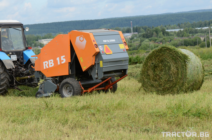 Сламопреси Wolagri NAVIGATOR RB15 17 - Трактор БГ