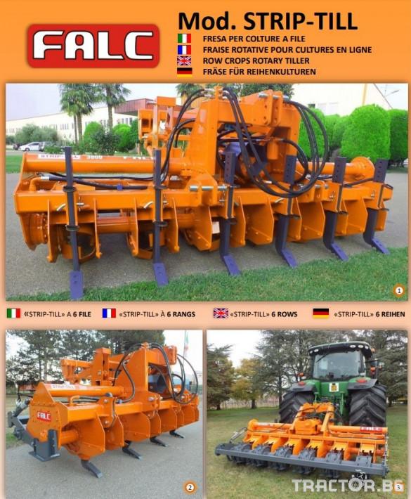 Фрези FALC STRIP TILL 1 - Трактор БГ