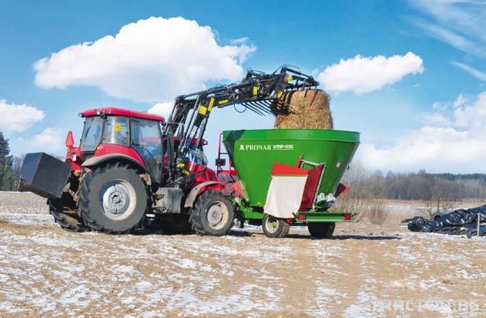 Машини за ферми МИКСЕРИ PRONAR VMP 1 - Трактор БГ