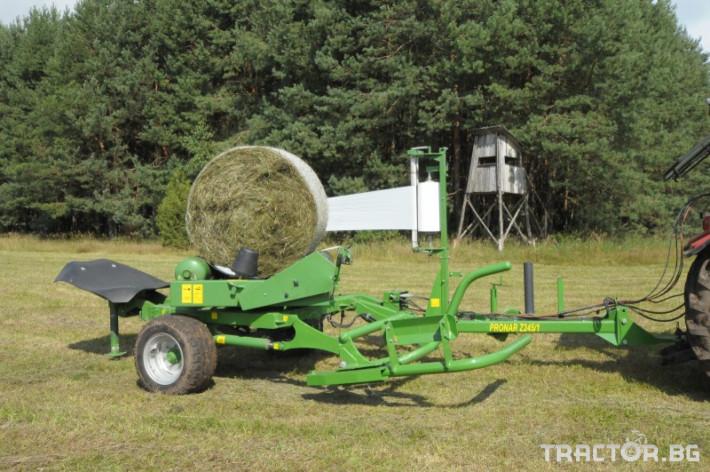 Машини за ферми PRONAR Z245 ФОЛИРАЩА МАШИНА 0 - Трактор БГ